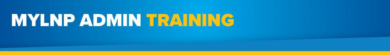 MyLNP Admin Training