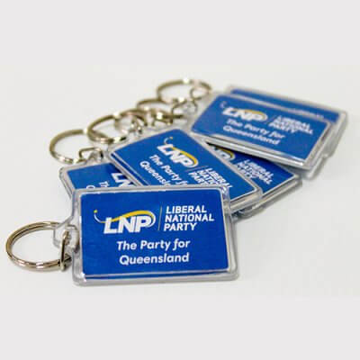 LNP Plastic Key Ring